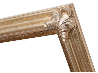 Valencia - silberner klassischer Holzrahmen