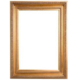 Valence - Atmosphäre schaffender goldener Rahmen mit Ornament