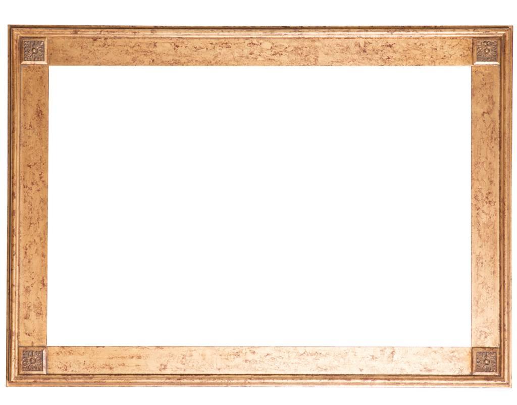 Palma - Einzigartiger goldener Rahmen - | KunstSpiegel.de