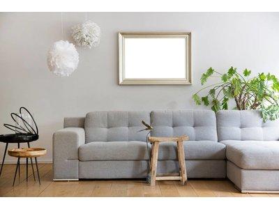 Brescia - Atmosphäre schaffender silberner moderner Rahmen