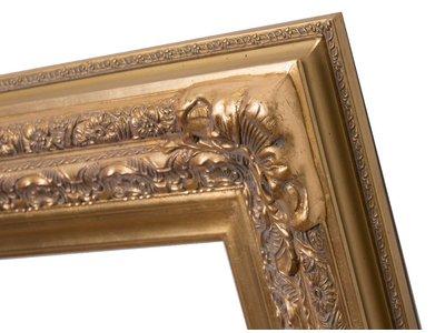Frejus - Goldener Barock-Rahmen