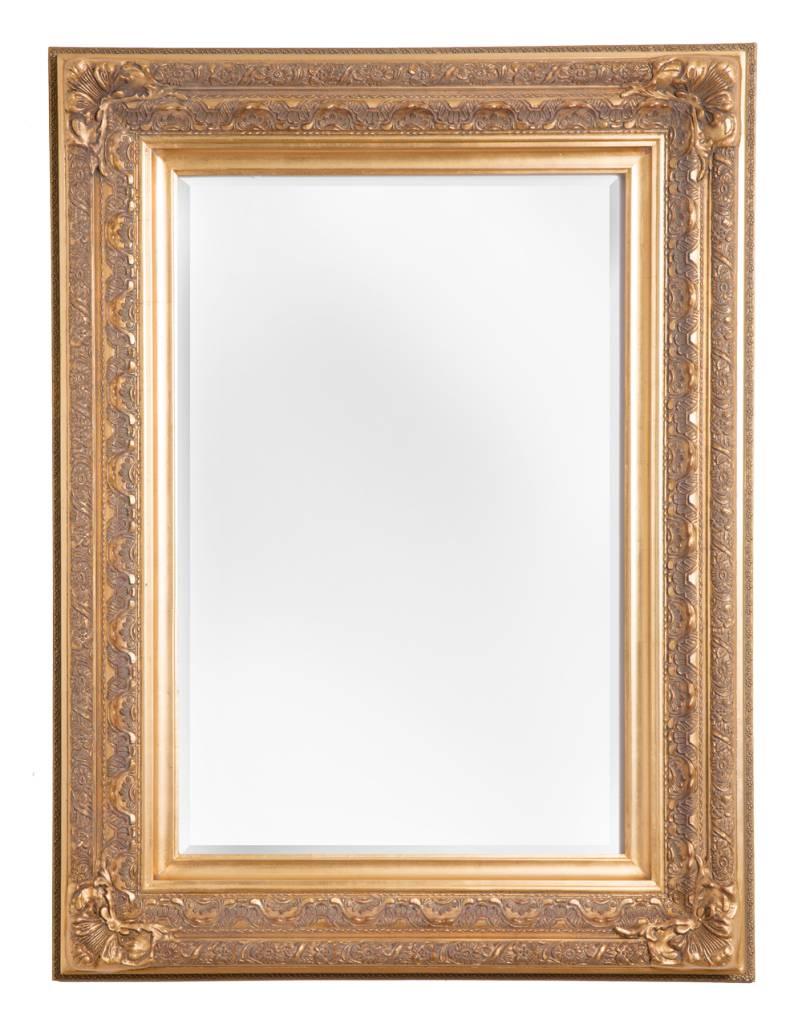 frejus spiegel mit goldenem barock rahmen. Black Bedroom Furniture Sets. Home Design Ideas