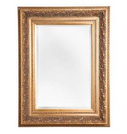 Genova - Spiegel mit goldenem Barock-Rahmen