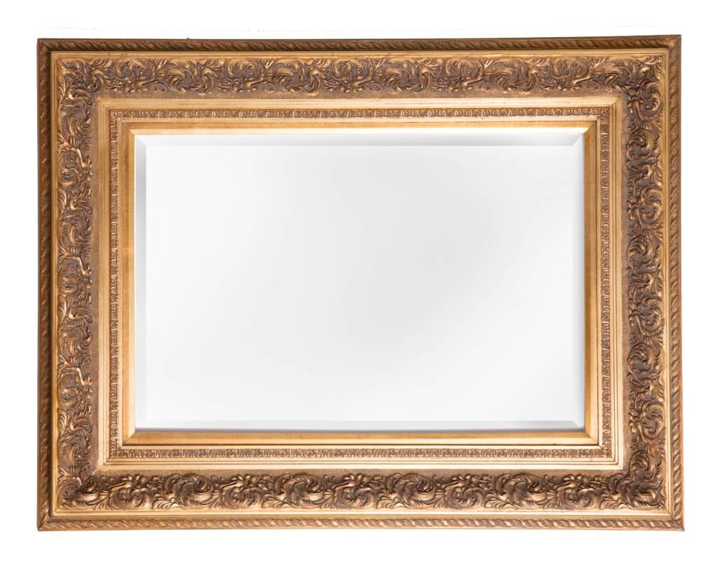 genova spiegel mit goldenem barock rahmen. Black Bedroom Furniture Sets. Home Design Ideas