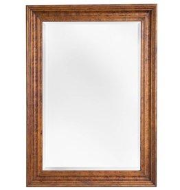 Tarragona - Spiegel mit braunem Rahmen