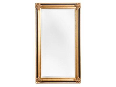 Valencia - Spiegel mit Goldrahmen