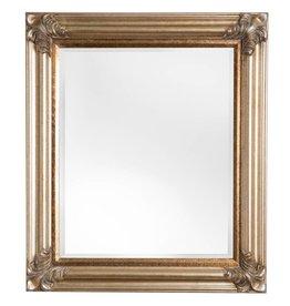 Valencia - Spiegel mit silbernem Rahmen