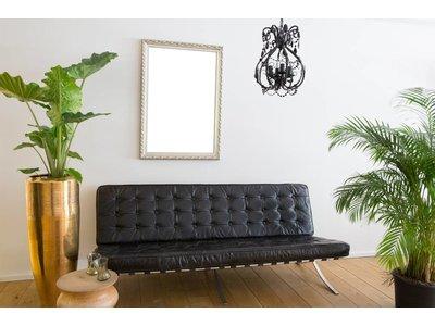 Bonalino - klassischer silberner Rahmen