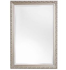 Bonalino - preiswerter Spiegel mit silbernem Barock-Rahmen
