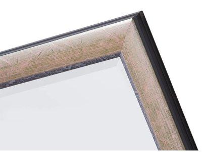 Fossano - Spiegel mit silbernem Rahmen
