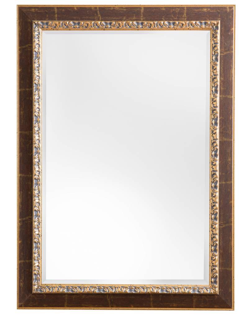 spiegel mit goldbraunem rahmen. Black Bedroom Furniture Sets. Home Design Ideas