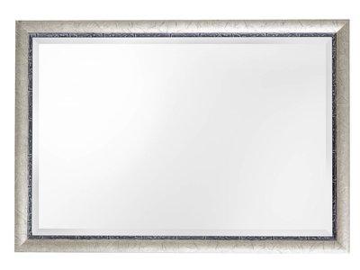 Paola - Facettenspiegel mit silbernem Rahmen