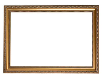 Pizzo goldener Barock-Rahmen