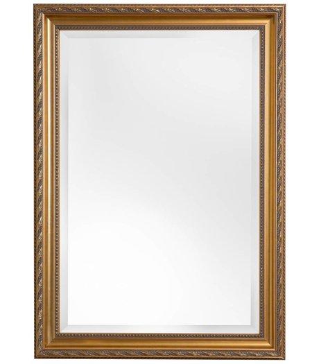 bonalino bezahlbarer spiegel mit goldenem barock rahmen. Black Bedroom Furniture Sets. Home Design Ideas