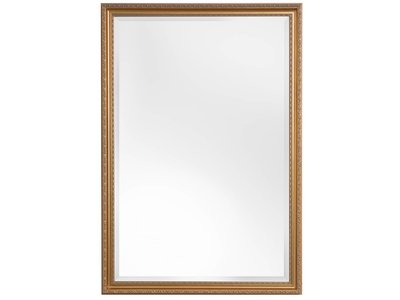 Spiegel mit klassischem goldenem Rahmen
