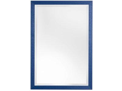Xabia spiegel mit blauem rahmen for Spiegel 90x120