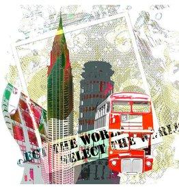 Select The World - Kunstdruck - Iris van der Meer