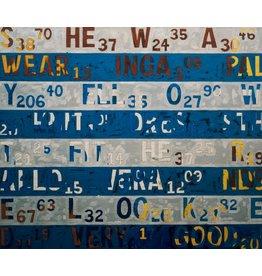 The Code - Fotokunst - Kunstdruck auf Leinwand