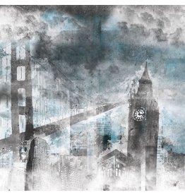 City Grudge - Fotokunst - Kunstdruck auf Leinwand - Amir Aran