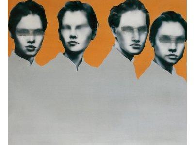 Orange Frauen II