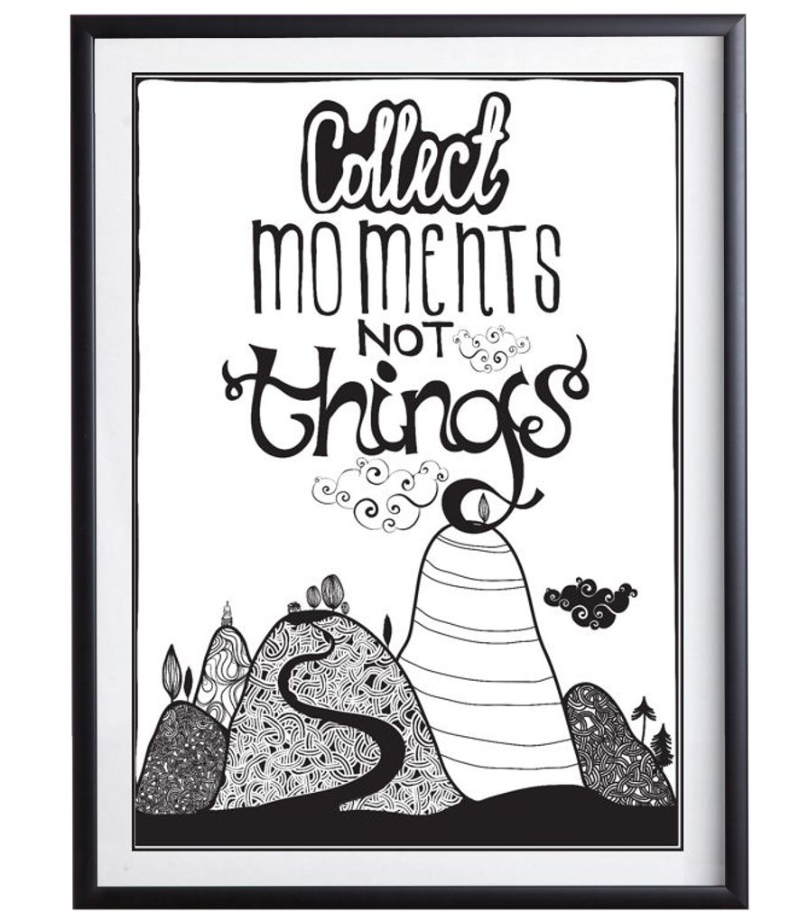 Collect Moments - Plakat