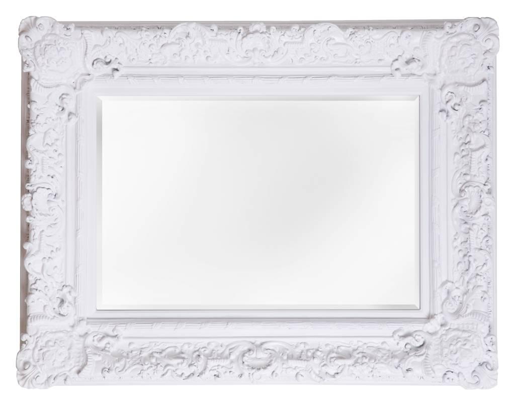 palermo spiegel mit wei em barock rahmen. Black Bedroom Furniture Sets. Home Design Ideas