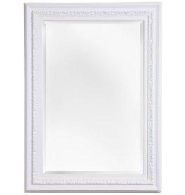 Murcia - Facettenspiegel mit einzigartigem weißen Rahmen