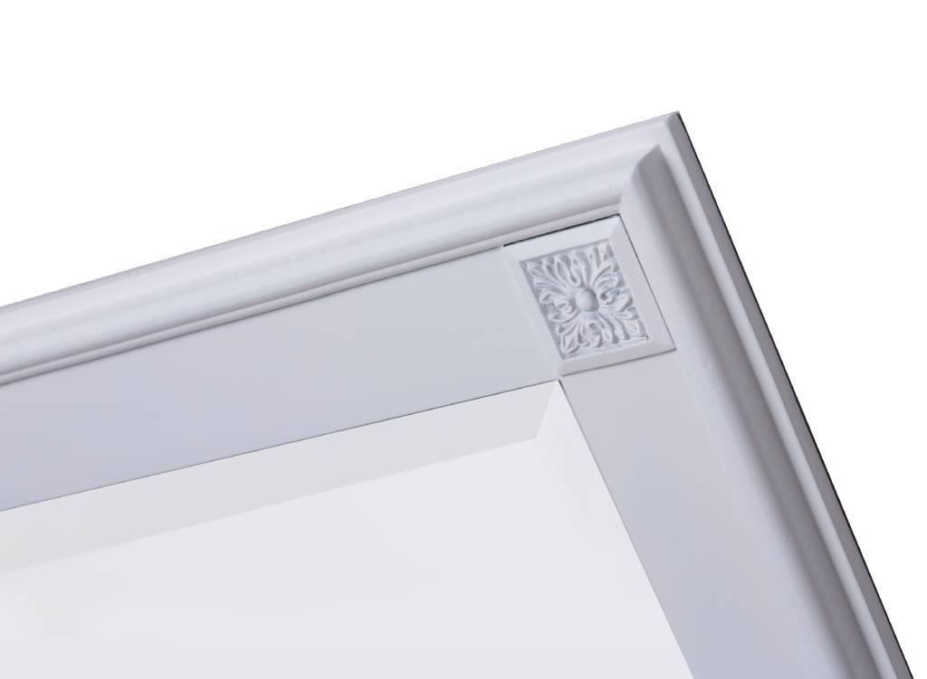 palma spiegel mit einzigartigem wei em rahmen. Black Bedroom Furniture Sets. Home Design Ideas