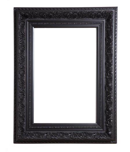 Montpellier schwarz - Schwarzer barock spiegel ...