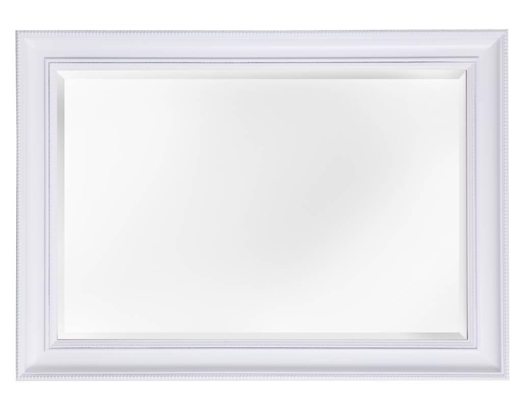 ajaccio spiegel mit wei em rahmen. Black Bedroom Furniture Sets. Home Design Ideas