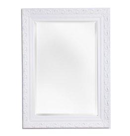 Savona - Spiegel mit weißem Barock-Rahmen