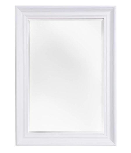 turin atmosph re schaffender spiegel mit wei em barock rahmen. Black Bedroom Furniture Sets. Home Design Ideas