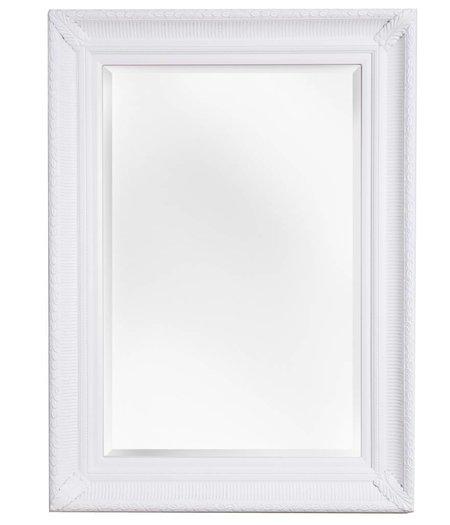 bari spiegel mit einzigartigem wei em rahmen. Black Bedroom Furniture Sets. Home Design Ideas