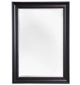 Ajaccio - Spiegel mit schwarzem Rahmen