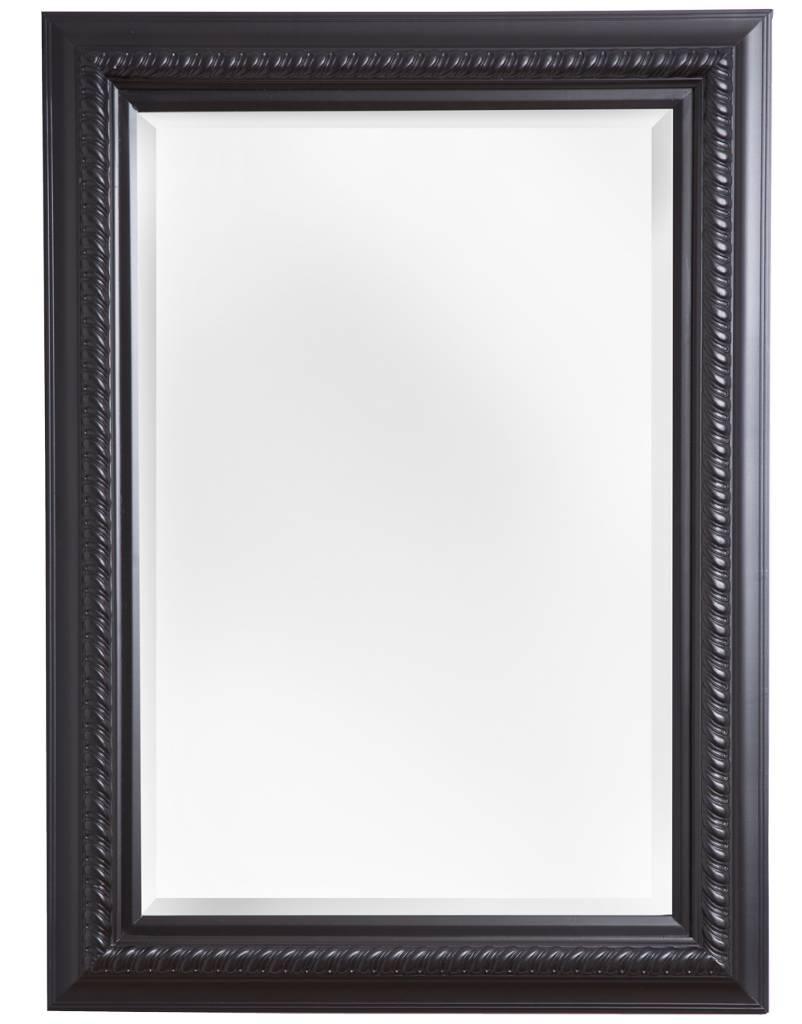 ferrara spiegel mit schwarzem rahmen. Black Bedroom Furniture Sets. Home Design Ideas