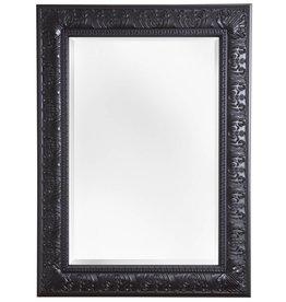 Marbella - Spiegel mit klassischem schwarzem Rahmen