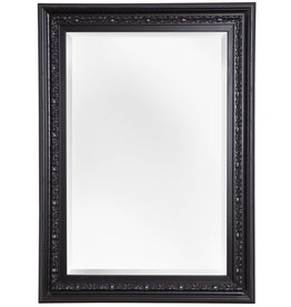 Murcia - Facettenspiegel mit einzigartigem schwarzem Rahmen