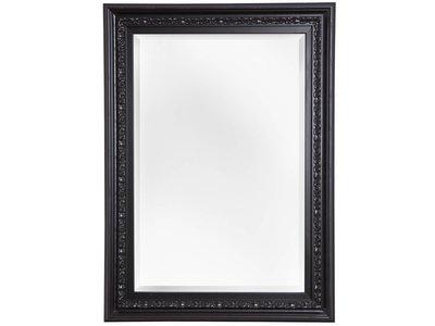 spiegel mit einzigartigem schwarzem rahmen. Black Bedroom Furniture Sets. Home Design Ideas