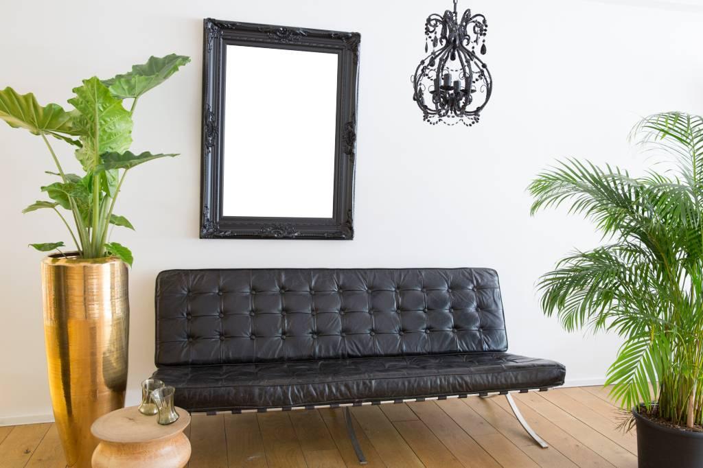 Schön - schwarzer Barockrahmen mit Ornament