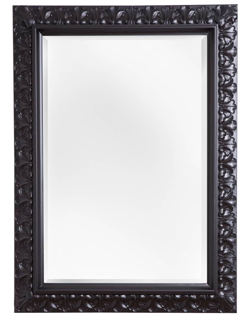 Padua - Schwarz (mit Spiegel)