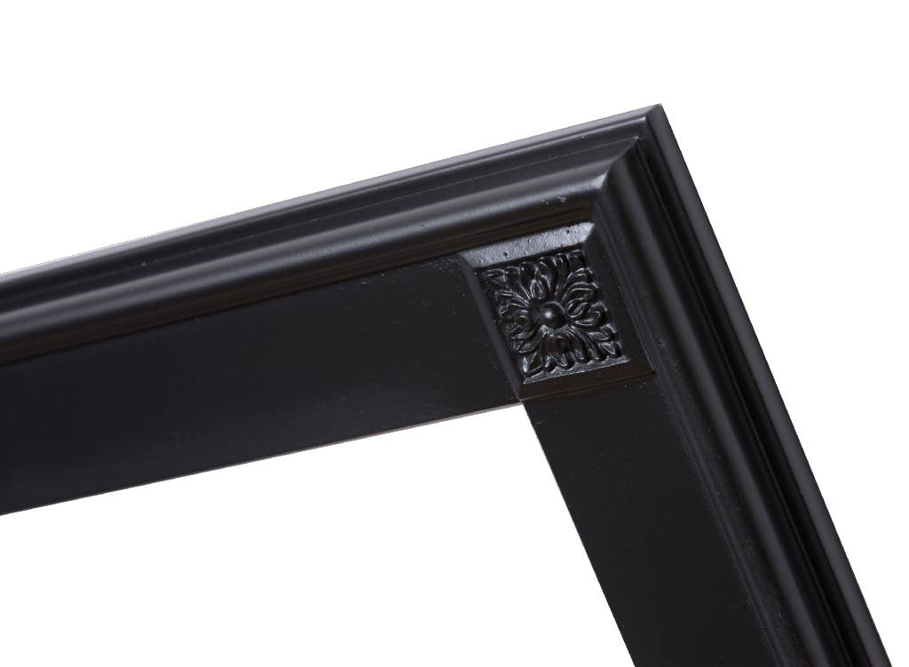 Palma einzigartiger schwarzer Rahmen - | KunstSpiegel.de