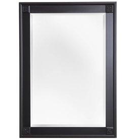 Palma - Spiegel mit einzigartigem schwarzem Rahmen