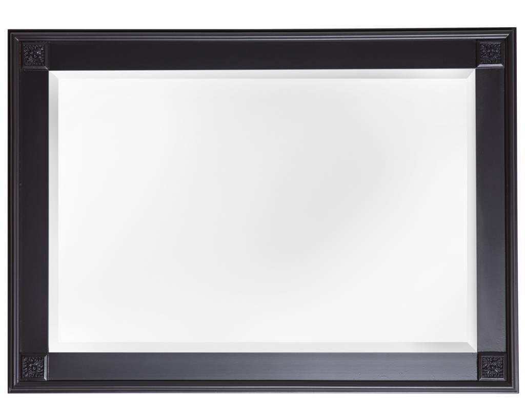 palma spiegel mit einzigartigem schwarzen rahmen. Black Bedroom Furniture Sets. Home Design Ideas