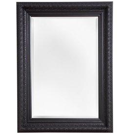 Vigo - Spiegel mit schwarzem Barock-Rahmen