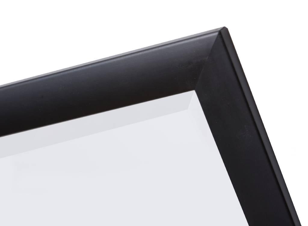 frascati spiegel mit modernem schwarzem rahmen. Black Bedroom Furniture Sets. Home Design Ideas