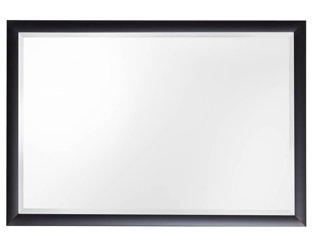 Frascati Spiegel mit modernem schwarzem Rahmen