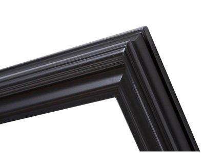 Schaffender schwarzer moderner Rahmen