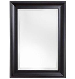 Foggia - Spiegel mit modernem schwarzen Rahmen