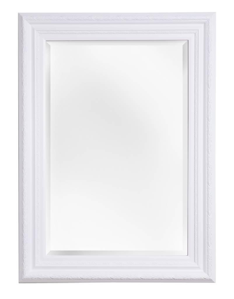 Spiegel Mit Weißem Rahmen : montepellier spiegel mit wei em rahmen ~ Indierocktalk.com Haus und Dekorationen