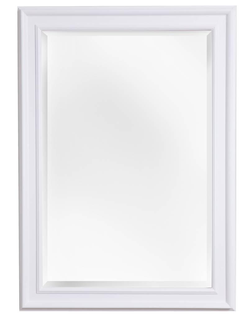 sevilla spiegel mit einzigartigem wei em rahmen. Black Bedroom Furniture Sets. Home Design Ideas